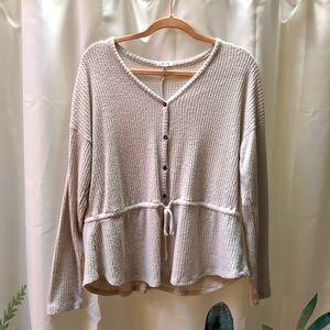 3/$10 🎃Maurices peplum sweater